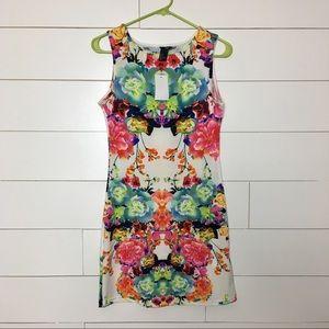 🆕 H&M floral print bodycon mini dress